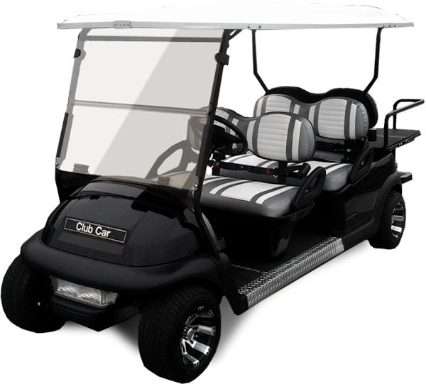Design Your Own Golf Cart | Custom Golf Carts | Cary Cart Co on black trailer, black tv, black toy hauler, black bus,
