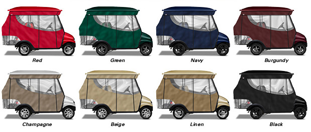 golf cart enclosure options