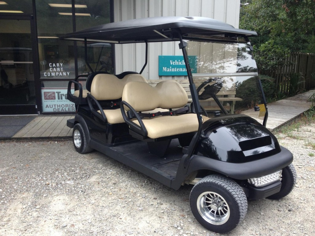 Black Club Car Six passenger