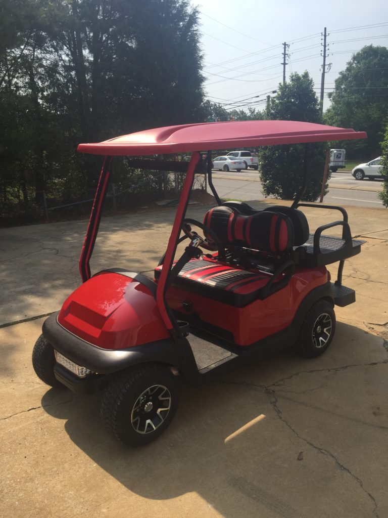 2014 Club Car Red