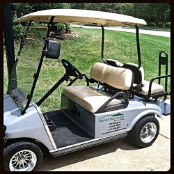 Corporate Golf Cart