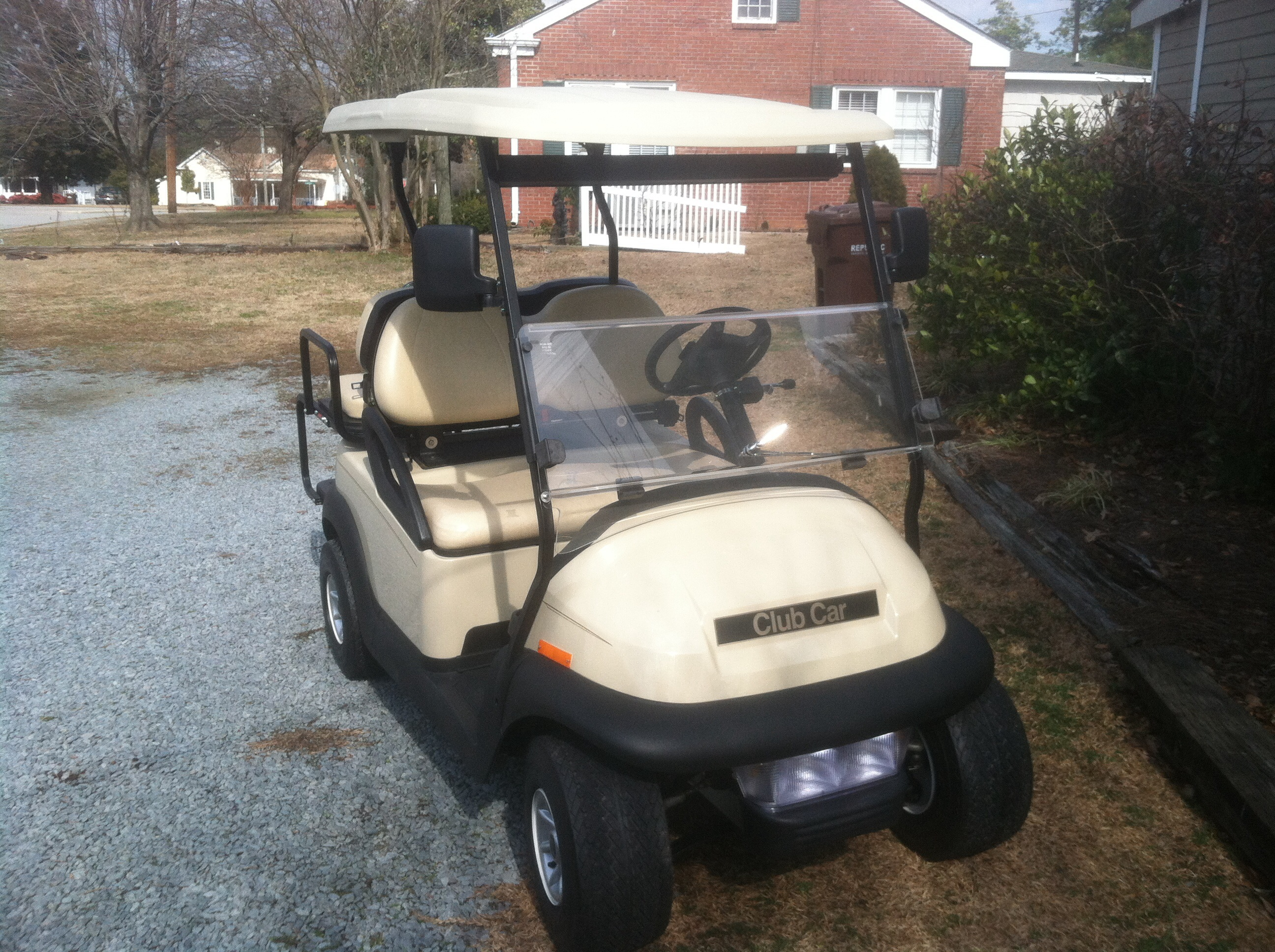 how to make a golf cart street legal in nc