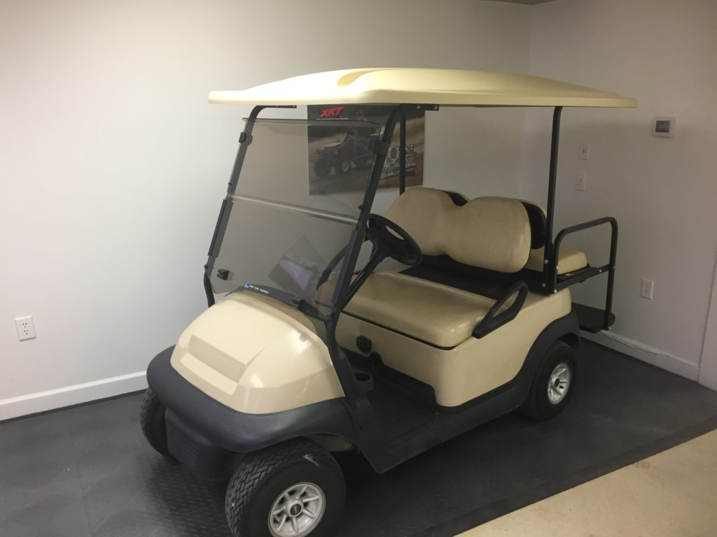 Beige Leasing Cart