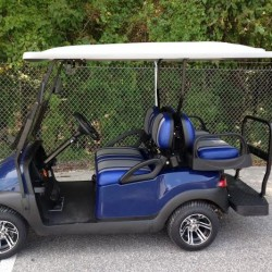 dallas Cowboys golf cart