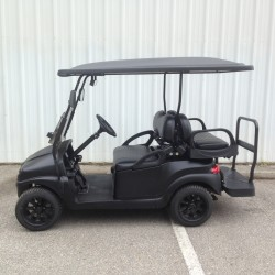 Matte Black Custom Golf Cart