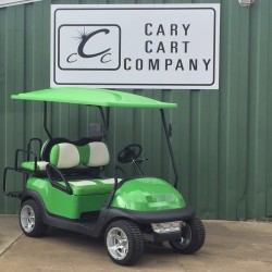 Lime Green Precedent Golf Cart