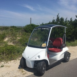 Street Legal Garia Golf Car