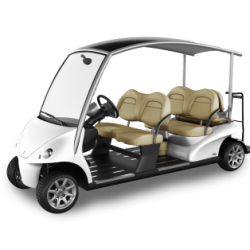 Gaira Golf Car six Person