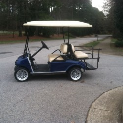 Blue Street Legal Golf Cart