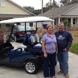 Street Legal Golf Cart with Owners