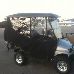 Closed-In Golf Cart
