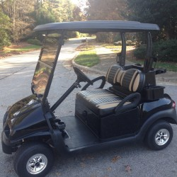 Black Street Legal Golf Cart
