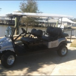 6-Seat Street Legal Golf Cart