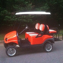 Orange Street Legal Golf Cart