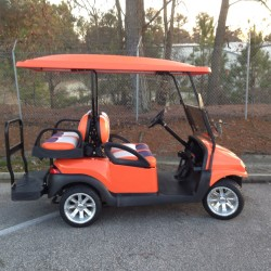 Clemson Street Legal Golf Cart