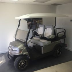 2020 Metallic Platinum, 4 Passenger Club Car Onward