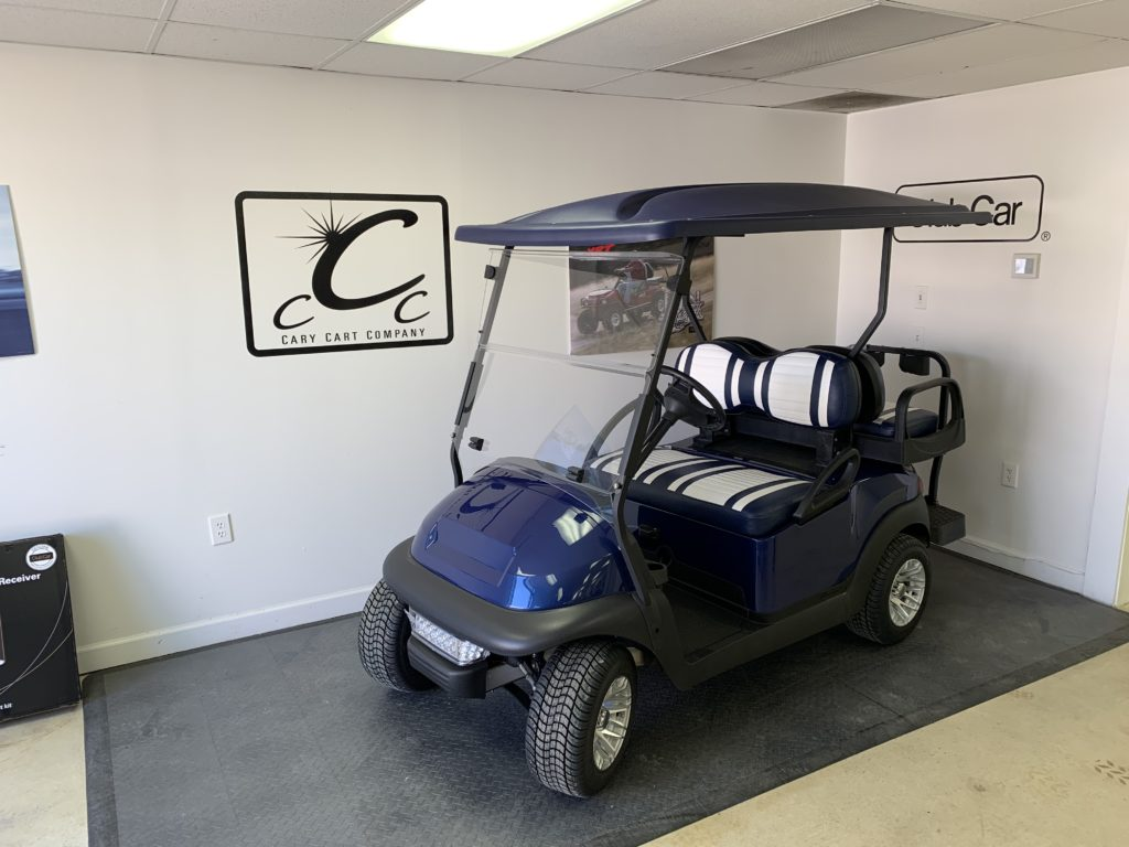 Navy Blue Club Car