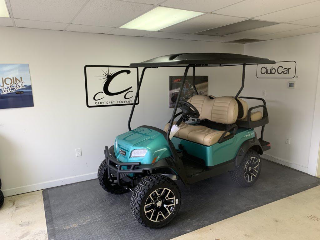 Ocean Teal Club Car Onward