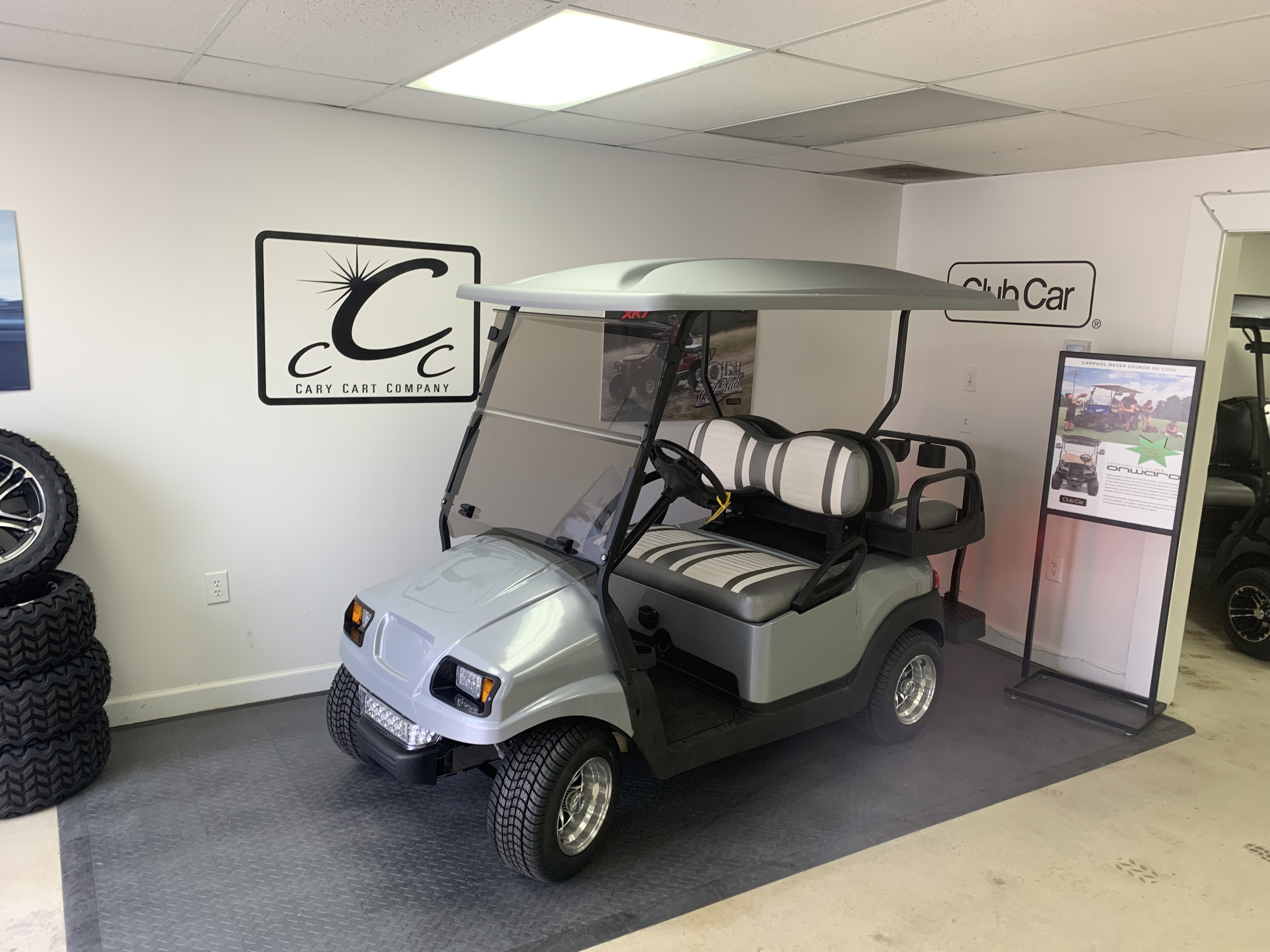 Rebuilt Club Car Phantom Silver