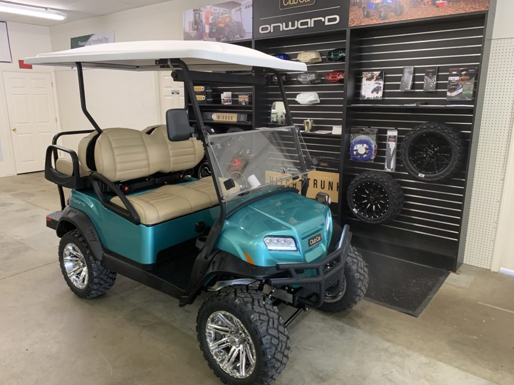 2020 Ocean Teal Club Car Onward