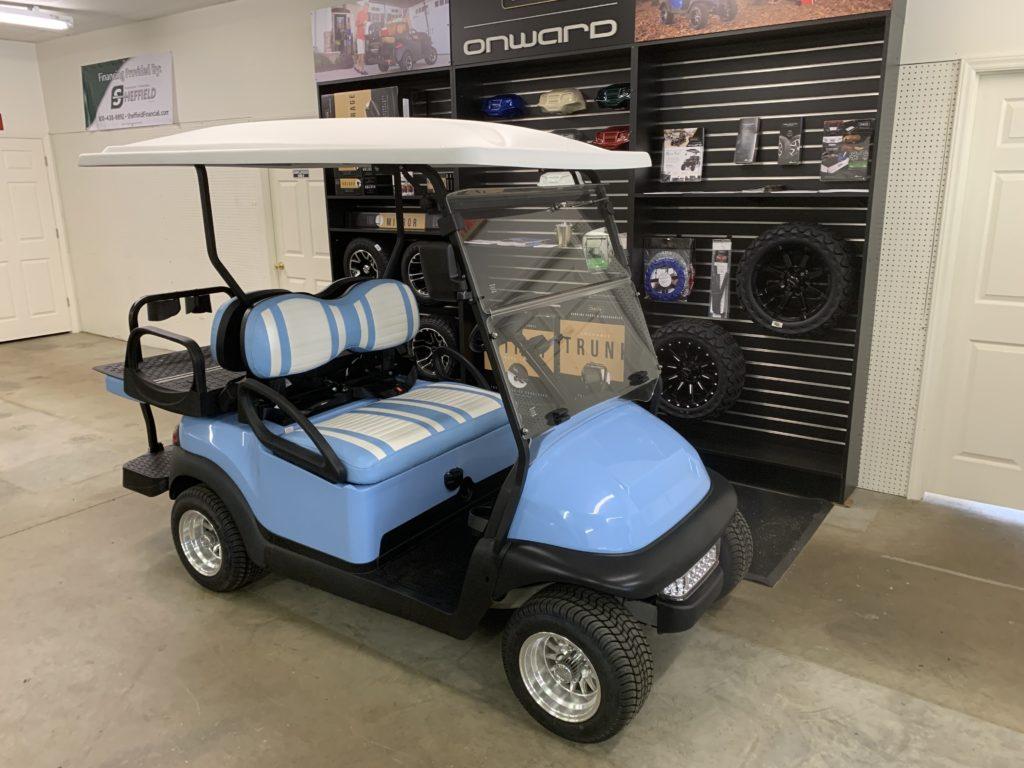 Carolina Blue Club Car LSV