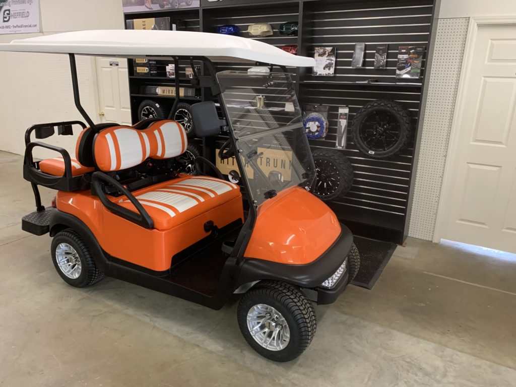Orange Club Car Precedent