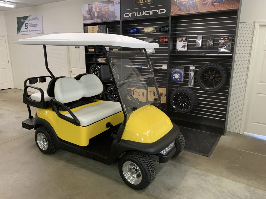 Yellow Club Car Precedent