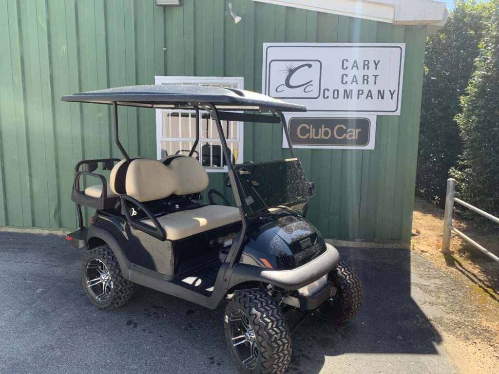2020 Black, 4-Passenger Club Car Villager