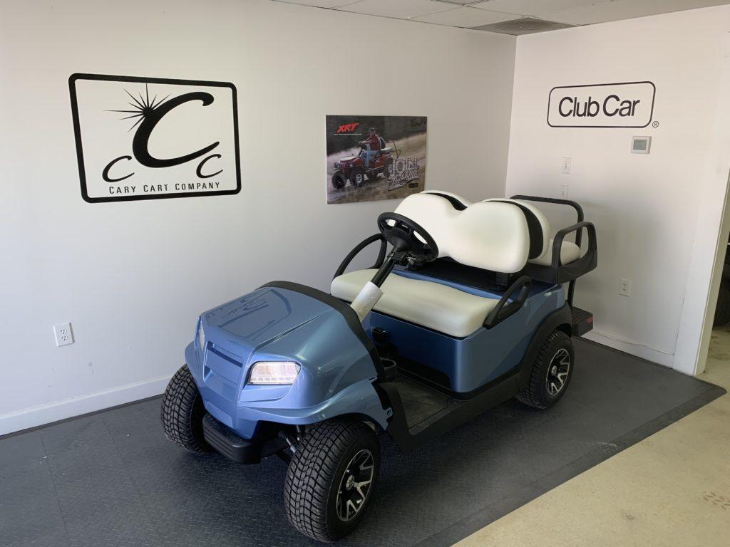 2020 Ice Blue Club Car