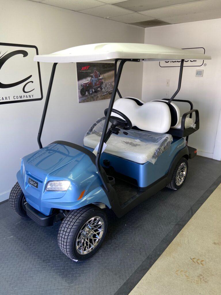 Club Car Onward Blue Ice