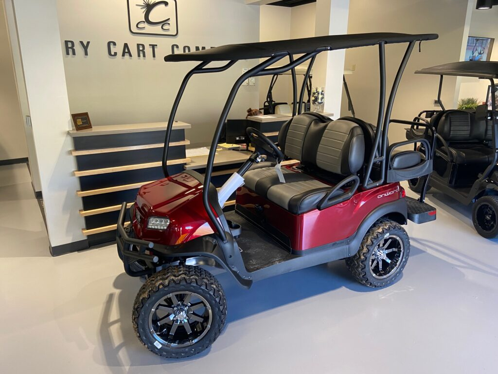 Club Car Onward Lifted