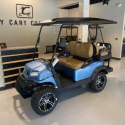 Ice Blue Lifted Club Car
